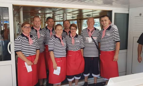 Maraton lađa 2018. - osoblje s broda